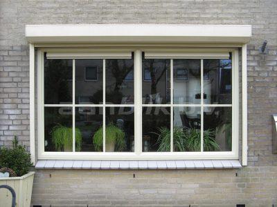 Aanblik Wormerveer - Kunststof kozijnen – Kunststof ramen met roeden