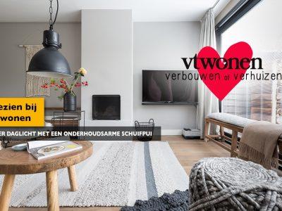 Aanblik Wormerveer - Kunststof kozijnen - VTwonen - meer daglicht met schuifpui en screenline